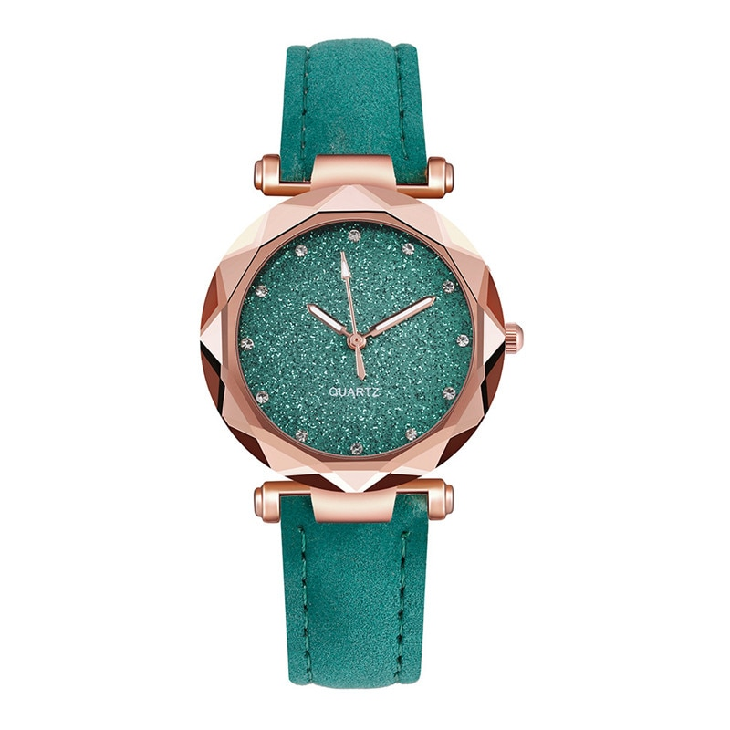 designer leather watches for women