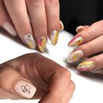 11/12patterns/sheet Black Line Coloful Abstract Image Nail Sticker Decals Sexy Girl Water Transfer Slider For Nails Art 3