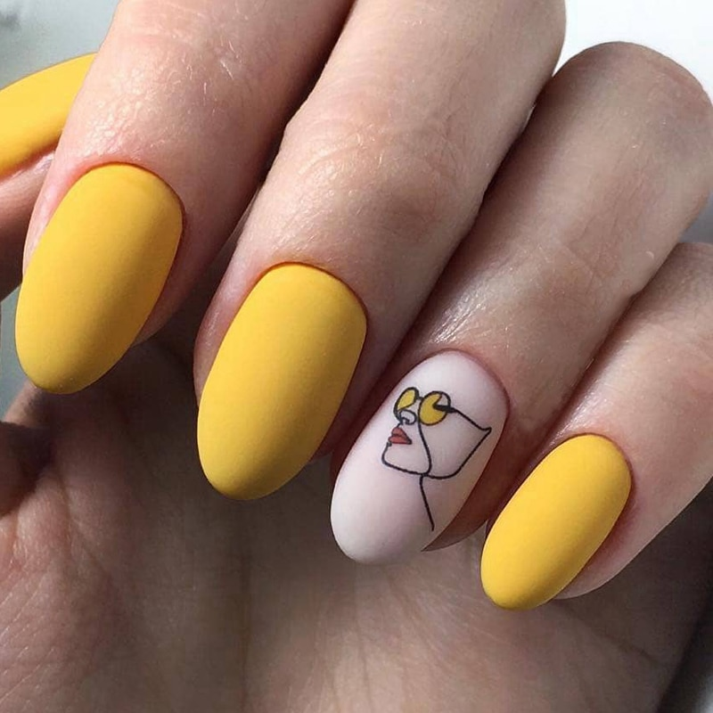design your water transfer nail art