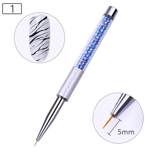 Brush for Nails 5mm for thin design