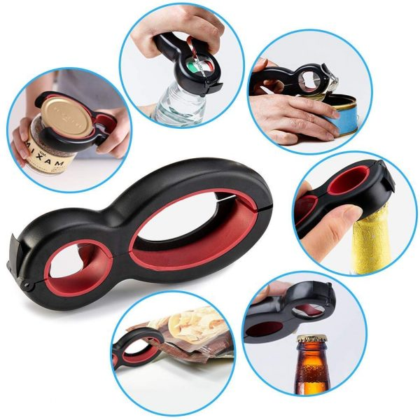 All-in-one best bottle opener combines versatility and comfort for your serving staff!