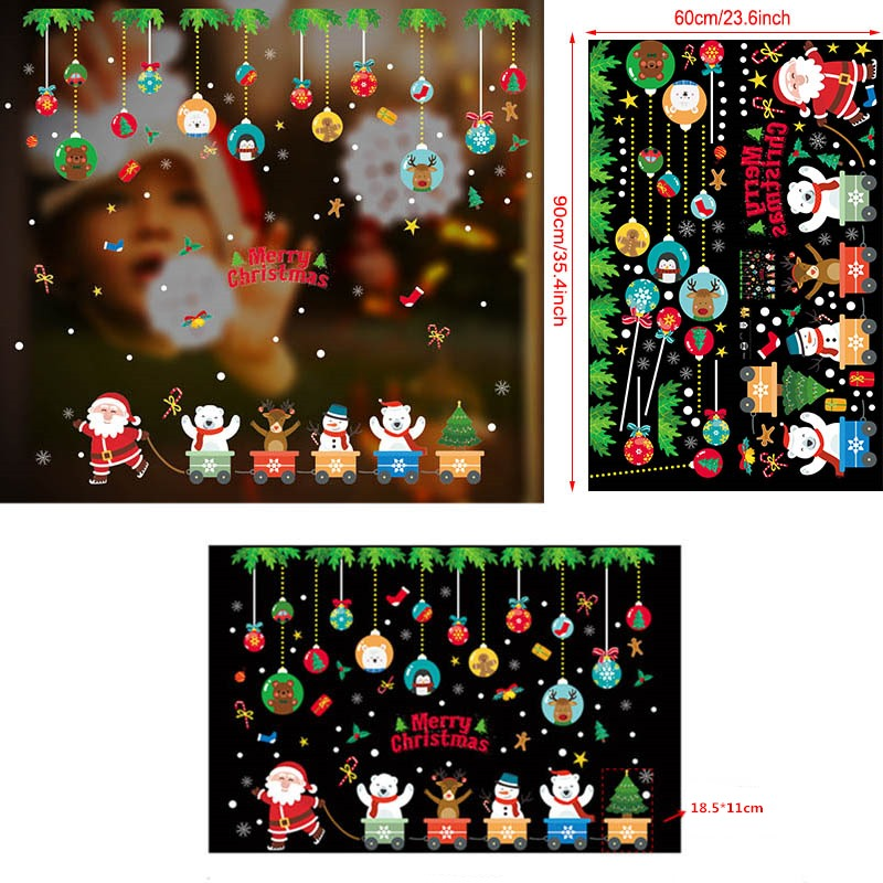 christmas stickers for windows