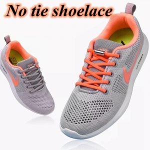 1Pair No tie Shoelaces Round Elastic Shoe Laces For Kids and Adult Sneakers Shoelace Quick Lazy Laces 19 Color Shoestrings 1