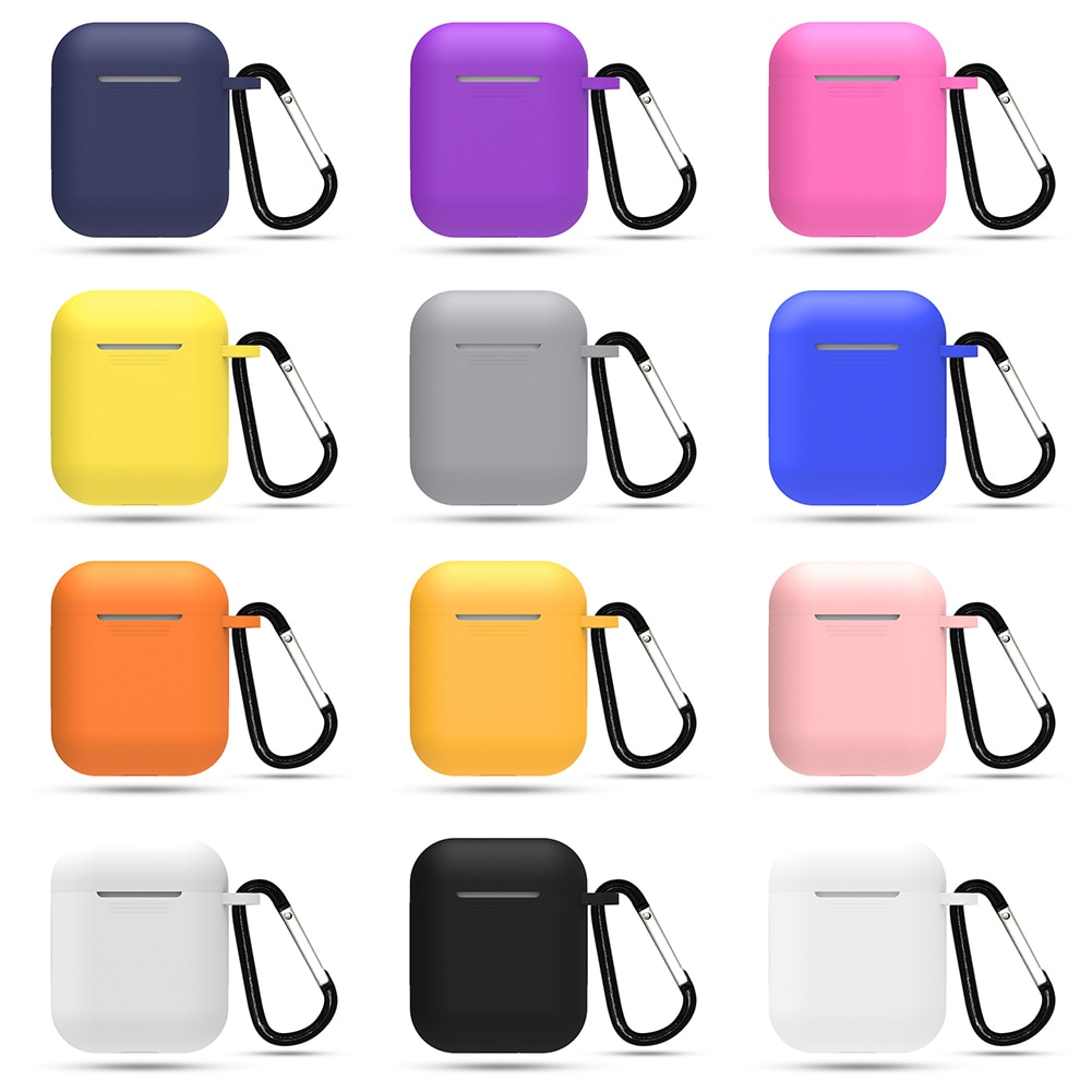 best airpods Silicone cases with keychain