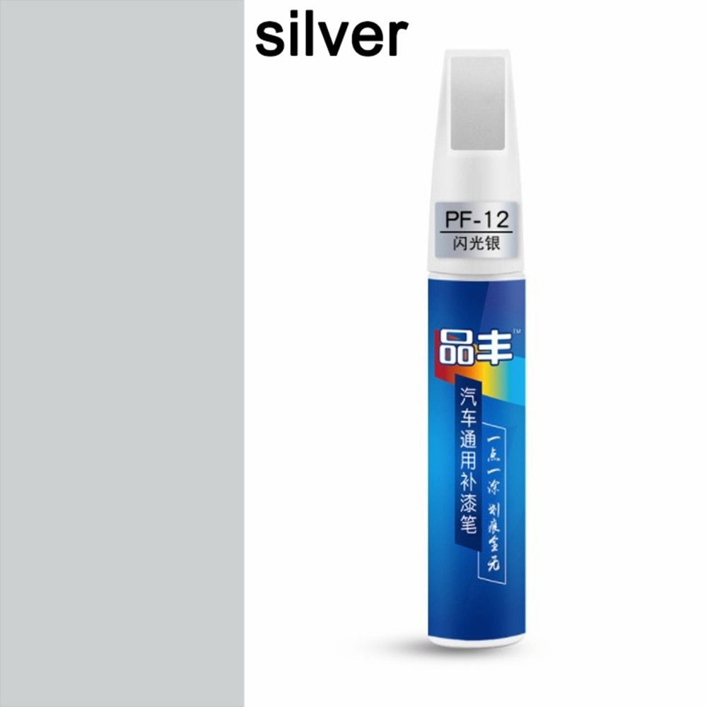 paint pen to repair scratches on car silver color