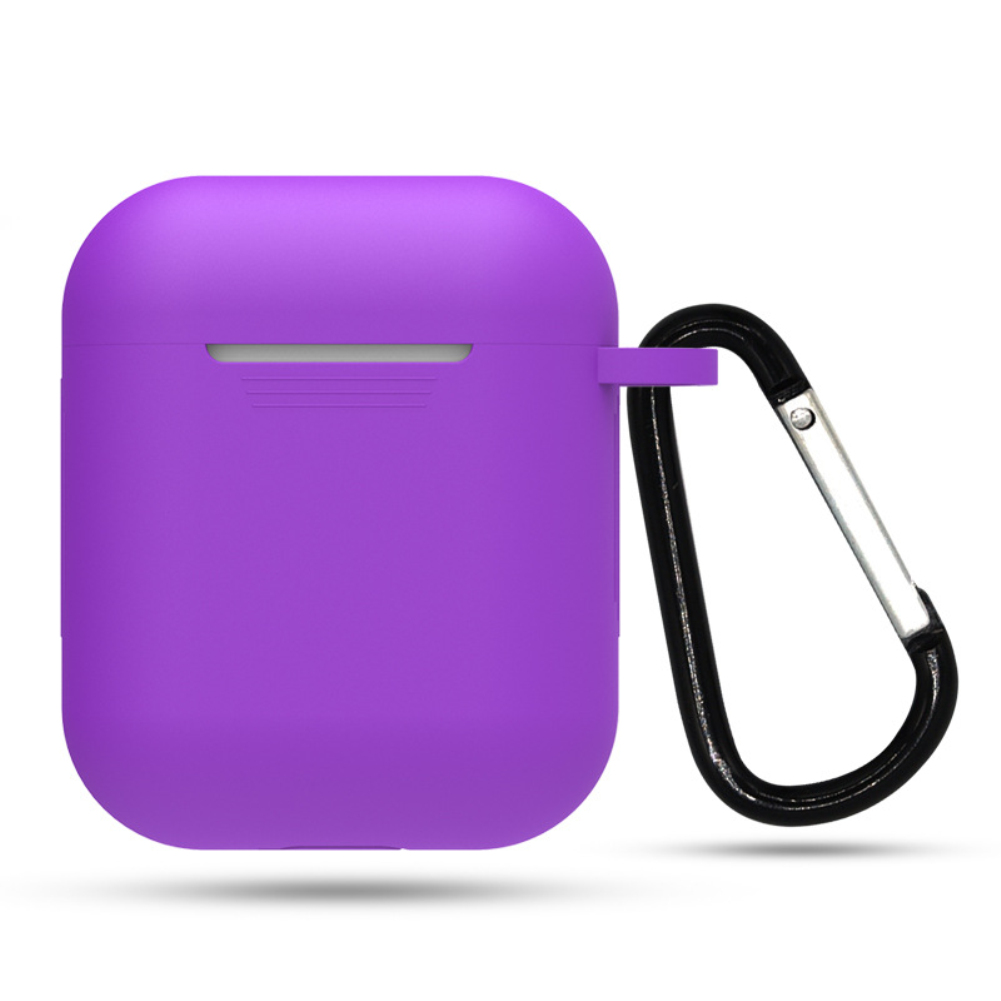 airpods case keychain hot pink
