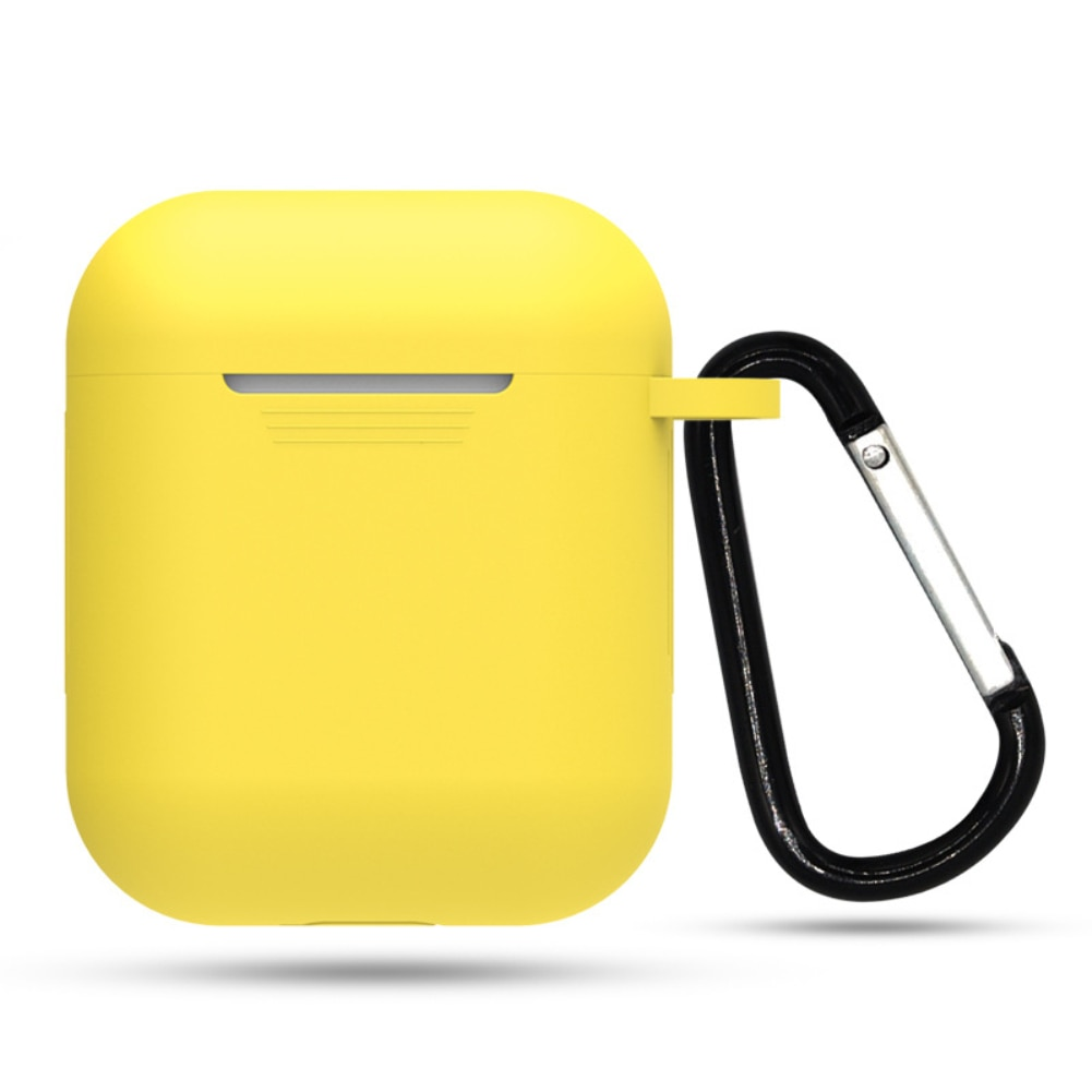 yellow Shockproof Cover for Apple AirPods