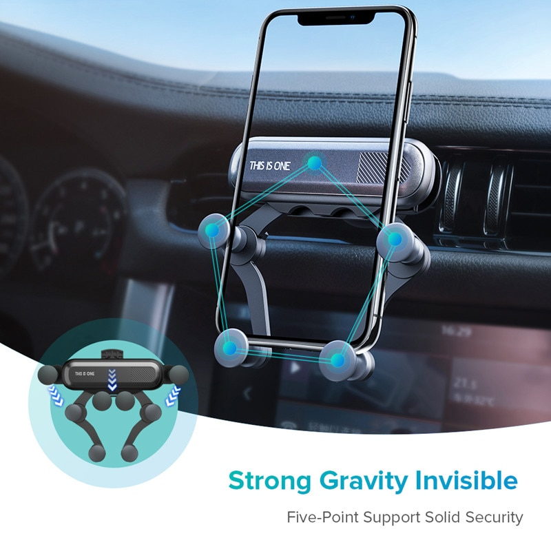 atttractive holder for cell phone in car