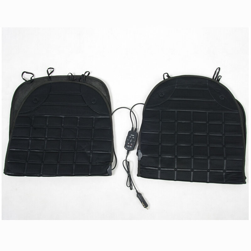 heated single seat black cushion for your car