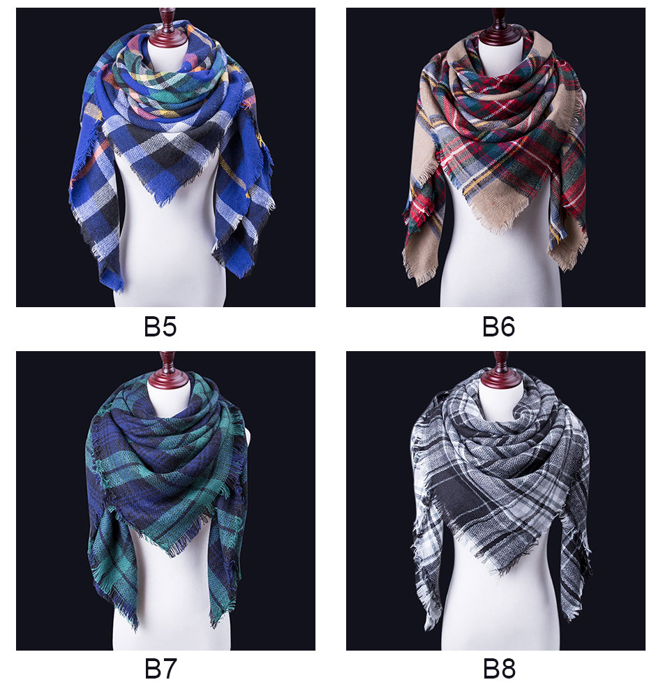 winter scarves for women with attractive look