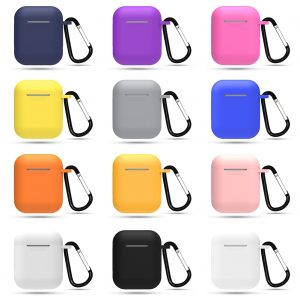 Mini Soft Silicone Case For Apple Airpods Shockproof Cover For Apple AirPods Earphone Cases for Air Pods Protector Case 1