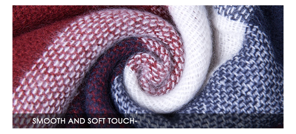 smooth and soft touch scarves for winter