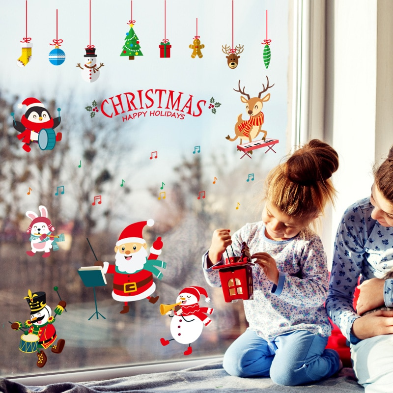 home decorations for christmas with wall stickers for house inside