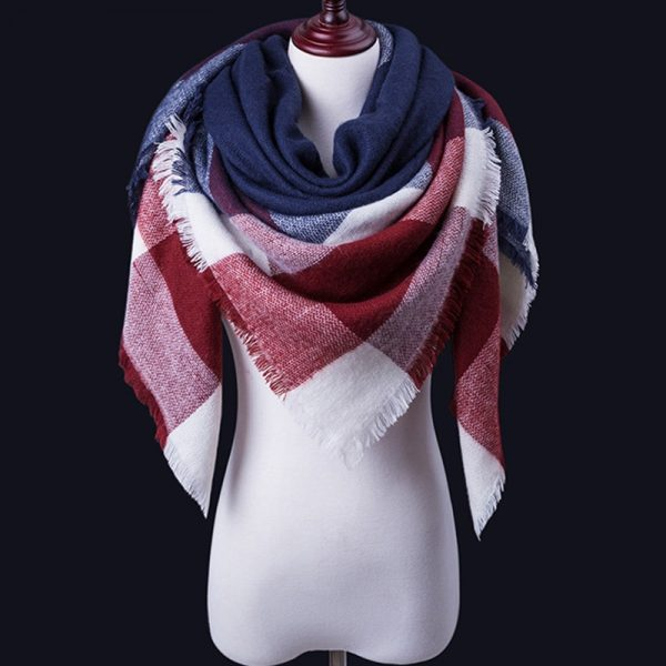 Women Winter Scarf For Women cashmere Scarf and Shawl Women's Blanket Scarf Warm Shawl Support Wholesale and Retail 1