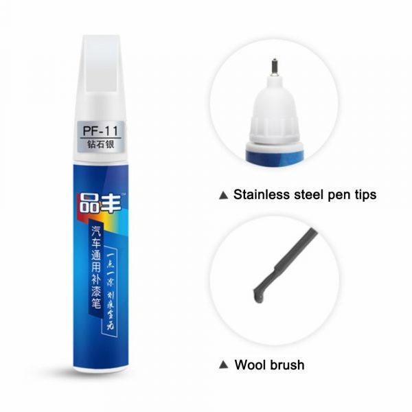 Car Mending Fill Paint Pen Tool Professional Applicator Waterproof Touch Up Car Paint Repair Coat Painting Scratch Clear Remover 2