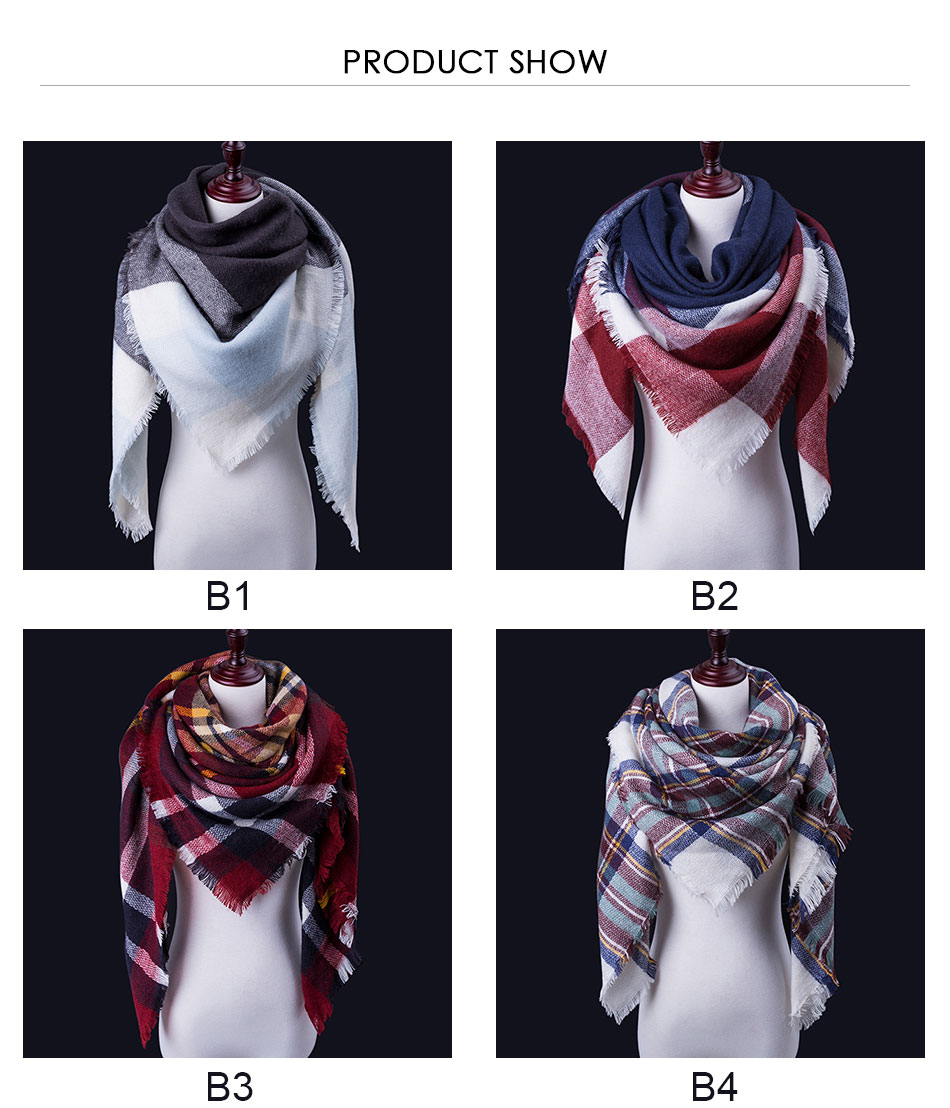 winter scarves with diffrent designs