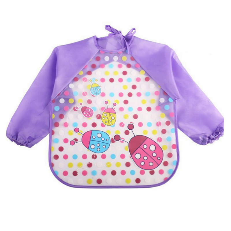 infant baby bibs with full long sleeves