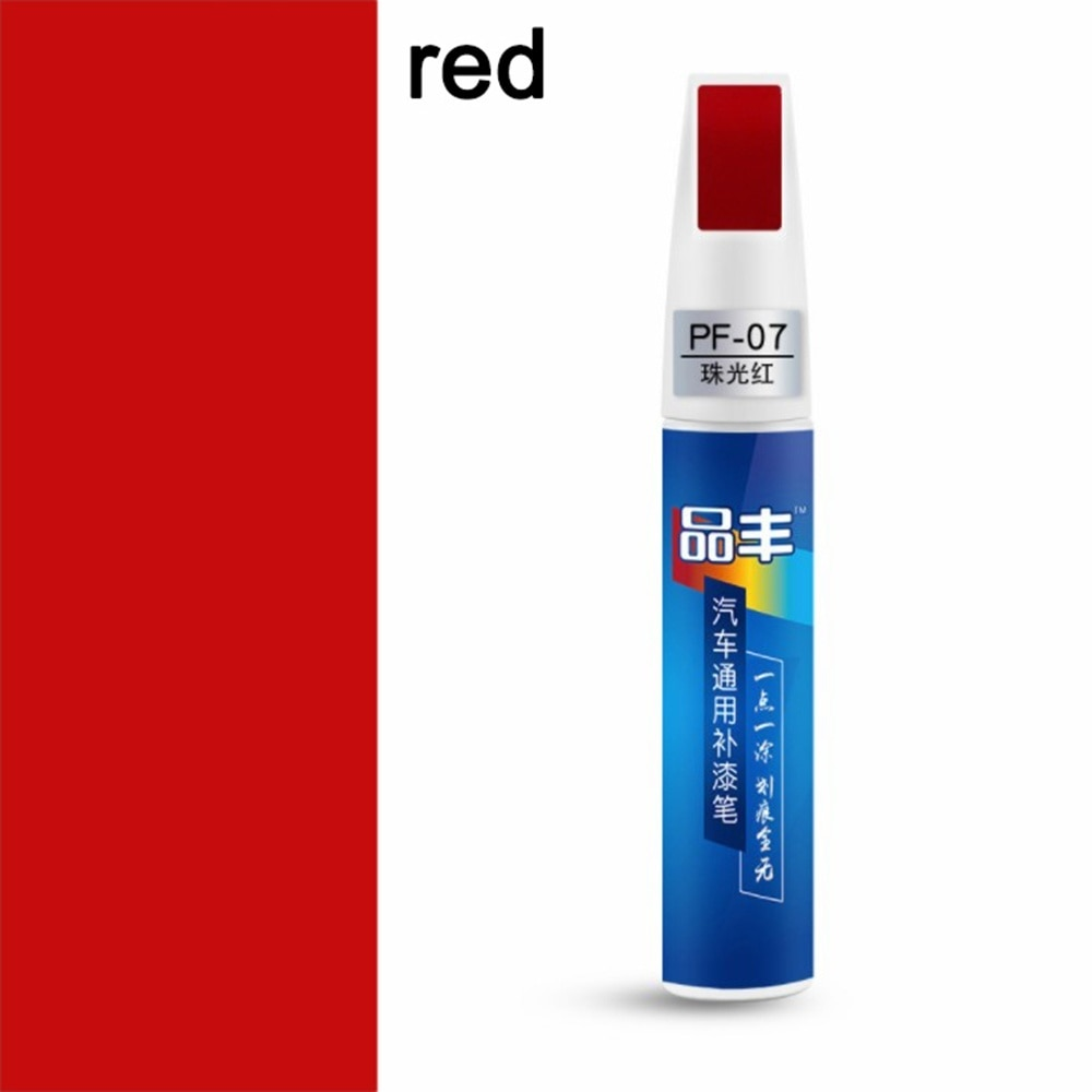 paint pen to repair scratches on car red color