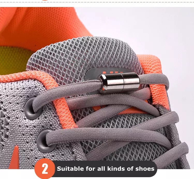 stylish elastic laces for shoes