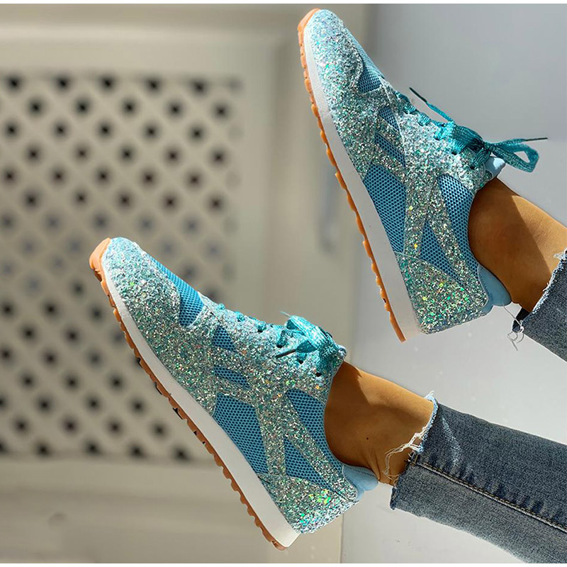 casual girl shoes womens bling sneakers for style